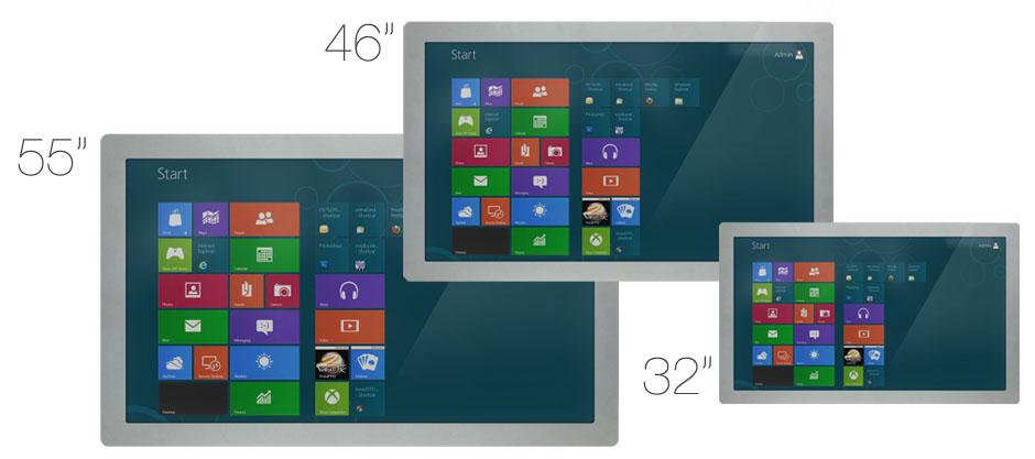 Диагонали интерактивного стола