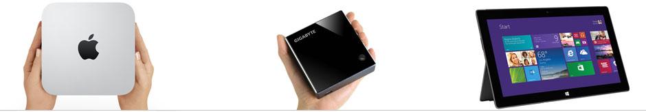 Pro Multitouch работает на высоких скоростях даже на мини-компьютере или планшете.