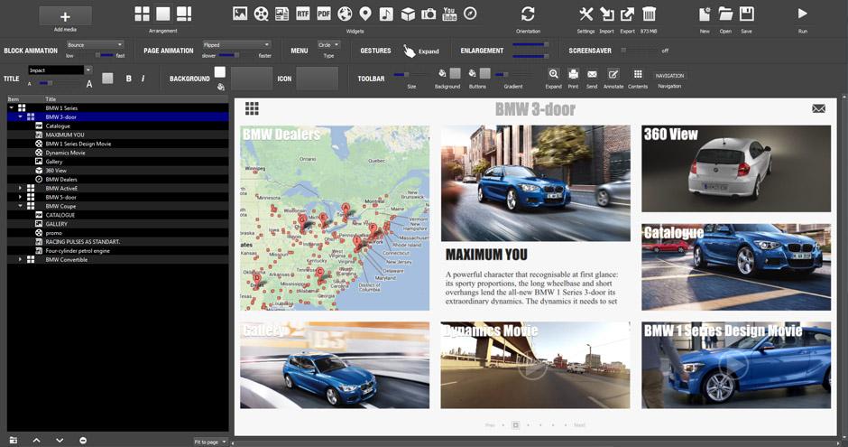 Создавать презентации с Pro Multitouch удивительно просто.