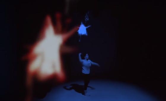 интерактивный танцевальный перфоманс