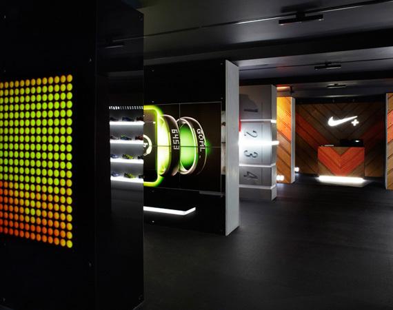 Nike FuelStation в Boxpark